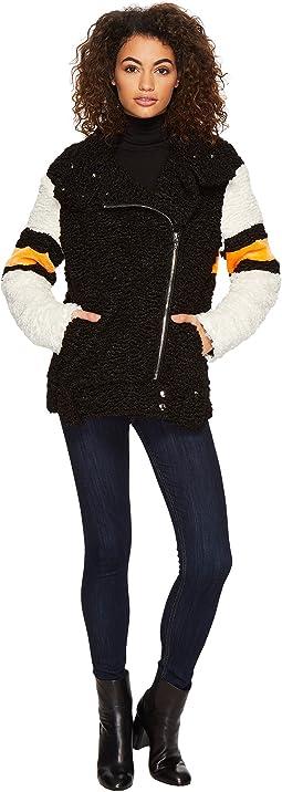 Blank NYC - Teddy Bear Jacket in The Fuzz