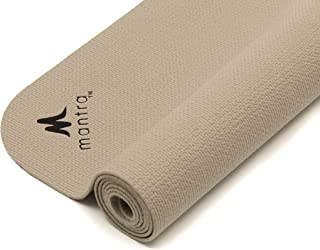 """Endurance Yoga Mat (28"""" x 76"""") Wider, Longer Exercise Pad for Pilates, Stretching, Workouts, Fitness 