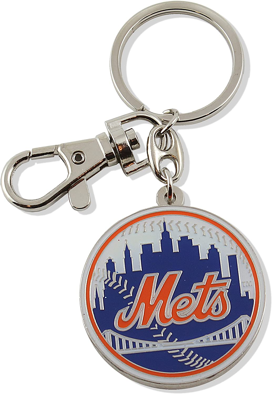 Directly managed store aminco MLB unisex-adult Team Ring Key Fees free!! Heavyweight Logo