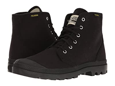 Palladium Pampa Hi Originale (Black/Black) Lace-up Boots