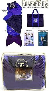 The Original Mermaid Tail Sleeping Bag from ShopEnchantails: Tasi Mermaid Deluxe 5 Piece Set