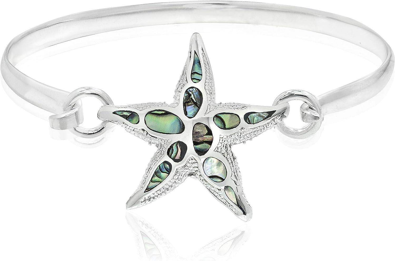 Honolulu Jewelry Company Sterling Silver Abalone Paua Shell Star