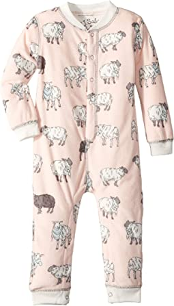 Sheep Velour Romper (Infant)