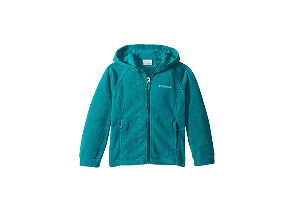 Columbia Kids Bentontm II Hoodie (Little Kids/Big Kids) (Emerald) Girl