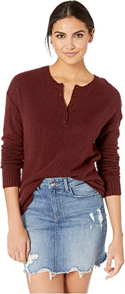Urboyfriends Knit Henley Sweater
