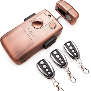 Cerradura electrónica inteligente invisible con 3 mandos para evitar la ocupacion y robo en su vivienda