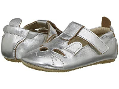 Old Soles Cutesy Shoe (Infant/Toddler) (Silver) Girl