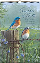 Legacy Publishing Group 2020 Large Wall Calendar with Scripture, Songbirds of Faith
