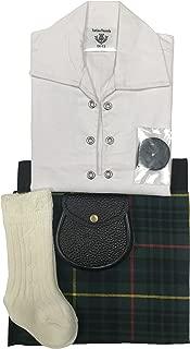 Manguera Sporran 0-24 meses MacLean caza Tartán Falda escocesa de bebé ajustable traje