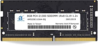 Adamanta 8GB (1x8GB) Laptop Memory Upgrade Compatible for Lenovo IdeaCentre, Legion, ThinkCentre, Thinkpad, Thinkstation & Yoga DDR4 2666Mhz PC4-21300 SODIMM 1Rx8 CL19 1.2v P/N: 4X70R38790 RAM