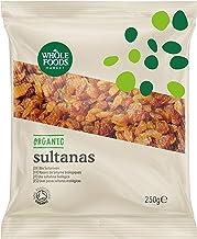Whole Foods Market - Uvas pasas sultanas ecológicas, 250 g
