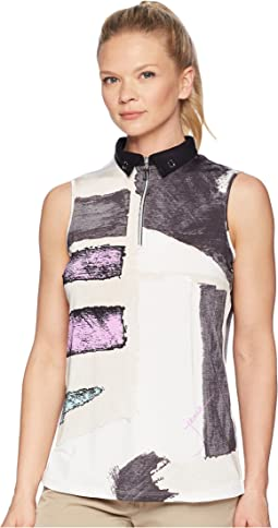 Osaka Print Sleeveless Top