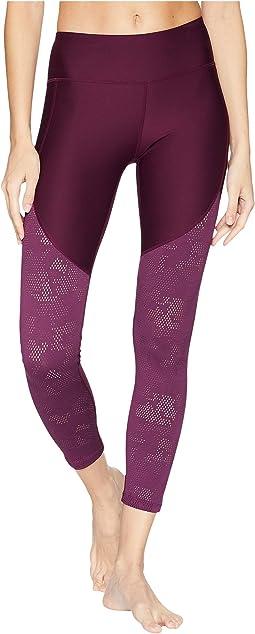 Threadborne Balance Mesh Ankle Crop Pants