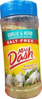 Mrs.Dash Garlic And Herb Seasoning Blend, 10 Ounce
