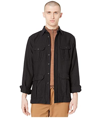 Eton Pocket Shirt Jacket (Black) Men