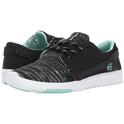etnies Scout YB (Black/Green/White) Women