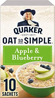 Quaker Oat So Simple Apple and Blueberry 360g