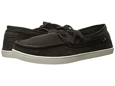 Sanuk Pair O Sail (Washed Black) Women