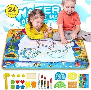Water Doodle Mat, XL Drawing Mat for Toddler 40