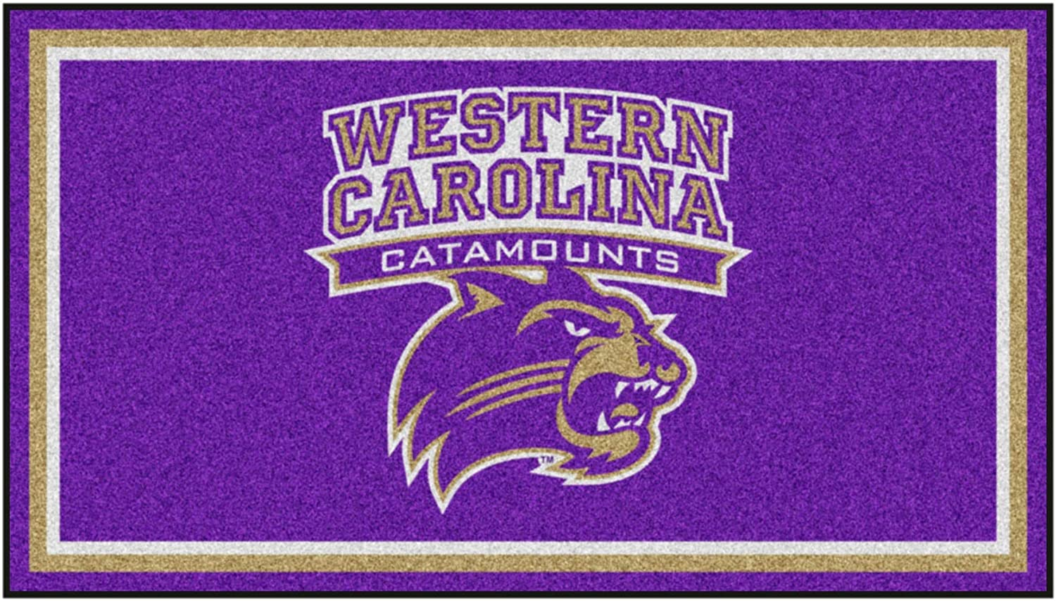 Western Carolina University 3ft. Year-end annual account Max 64% OFF x 5ft. Rug Area Plush