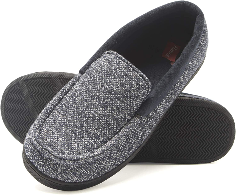 Hanes Unisex-Child Moccasin Slipper
