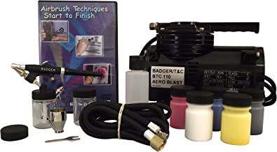 Badger Air-Brush Co. 314-SSWC Starter System with Compressor