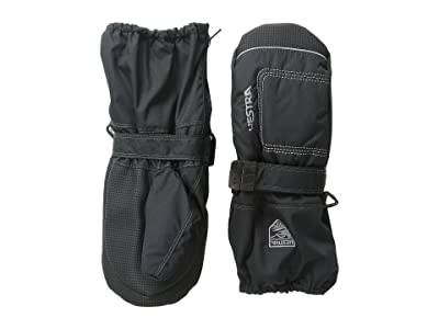 Hestra Baby Zip Long (Black/Black) Ski Gloves