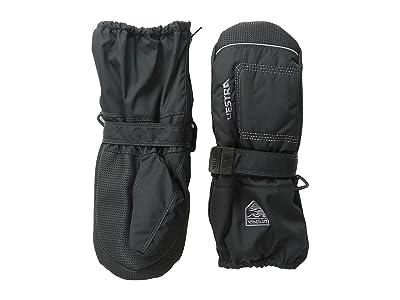 Hestra Baby Zip Long (Black/Black) Ski Gloves