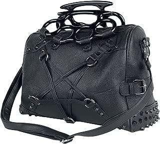 Vixxsin Pentacult Studs Top Handle Gothic Bag Vegan Leather Handbag