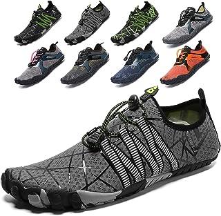 Lvptsh Zapatos de Agua para Hombre Zapatos de Playa Zapatillas Minimalistas de Barefoot Secado Rápido Calcetines de Piel D...