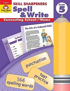 Skill Sharpeners Spell & Write, Grade 5