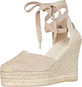 c0898df6bfd Soludos Tall Wedge Linen | Zappos.com