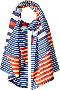 Sailing Away Silk Scarf