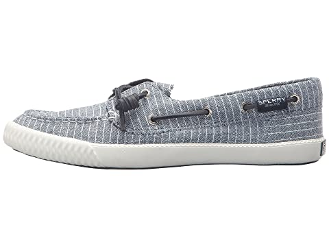 Sperry Pin WhiteGrey WhiteWhite Stripe Blue Away Black Sayel rqwFXEr