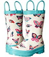 Hatley Kids - Electric Butterflies Rainboots (Toddler/Little Kid)