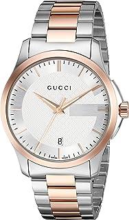 Gucci Swiss Quartz Stainless Steel Dress Two-Tone Men's Watch(Model: YA126473)