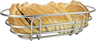Home Basics FB49793 Simplicity Collection, Satin Nickel Bread Basket, One Size