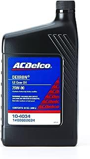 ACDelco 10-4034 Dexron LS 75W-90 Gear Oil - 32 oz