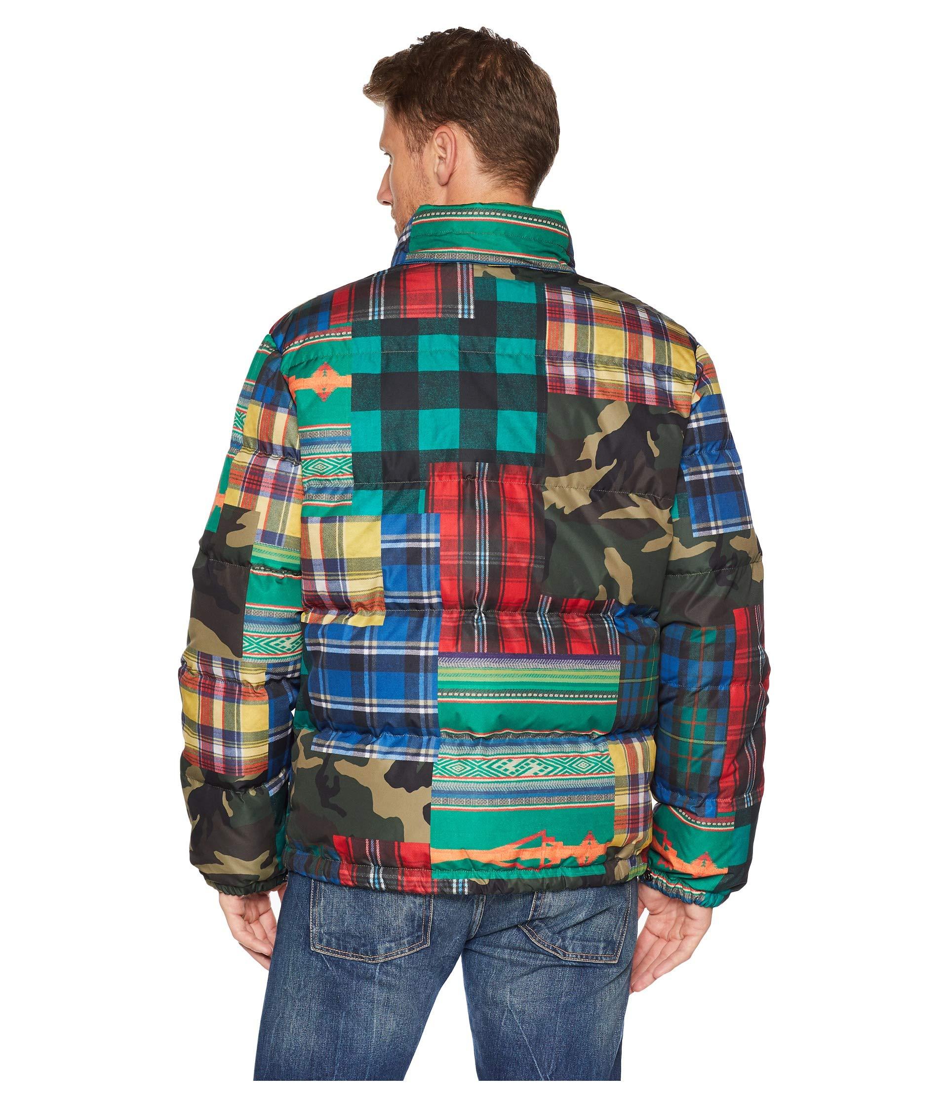 Patchwork Jacket Lauren Ralph Polo Hawthorne w0vTxq