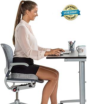 ComfiLife Premium Comfort Seat Cushion - Non-Slip Orthopedic 100% Memory Foam Coccyx Cushion for Tailbone Pain - Cush...
