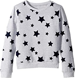 French Terry Shirt with Flocking (Big Kids)