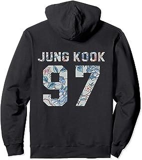 Official BTS Jung Kook 97 Kpop Bangtan Boys Merch BTS14FLR Pullover Hoodie