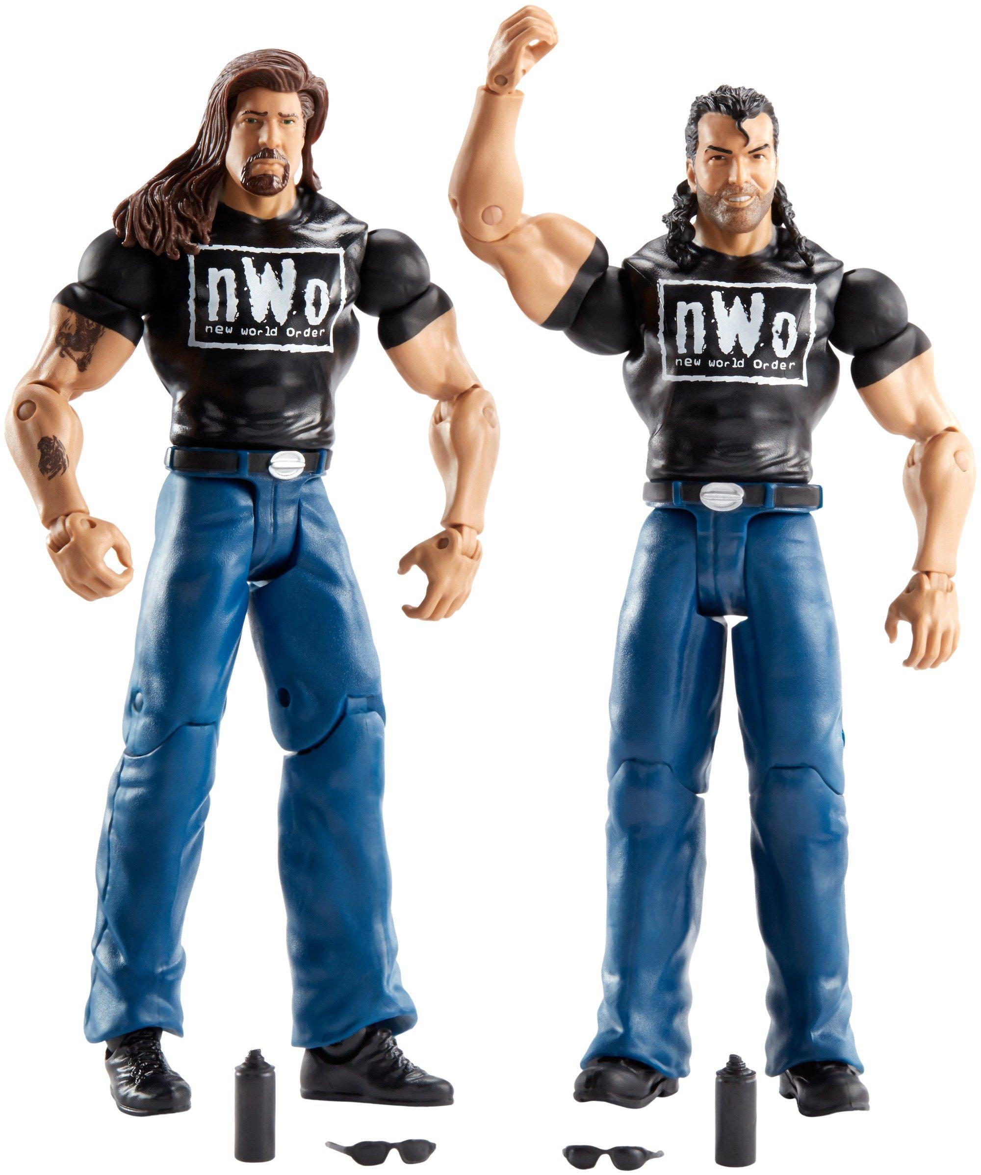 WWE Battle Pack The Outsiders Figura Acción, Pack 2: Amazon.es: Juguetes y juegos
