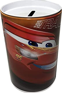 Kids Coin (Money) Bank - Disney Cars - Lightning McQueen 95 - See You On The Track