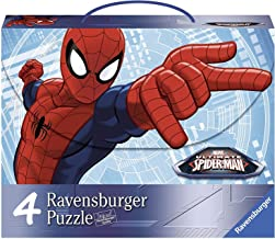 Marvel Spiderman 4 in a Box Jigsaw Puzzles 64 Pieces Ages 3+ Featuring Venom Captain Doctor Octopus