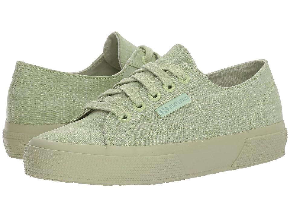 Superga 2750 Cottonmelangeu Sneaker (Light Green) Women