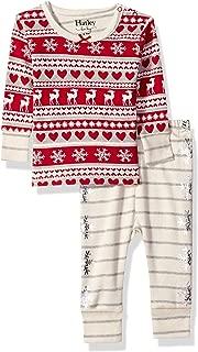 Baby Girls Organic Cotton Pajama Sets