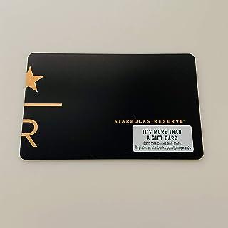 スターバックス カード Starbucks Card スタバ ハワイ 北米 Hawaii アメリカ 限定 PIN未削り 海外限定品 *STARBUCKS RESERVE * スターバックス リザーブ Black 黒