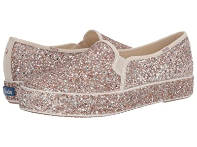 Keds x kate spade new york Triple Decker All Over Glitter (Multi Metallic Glitter) Women