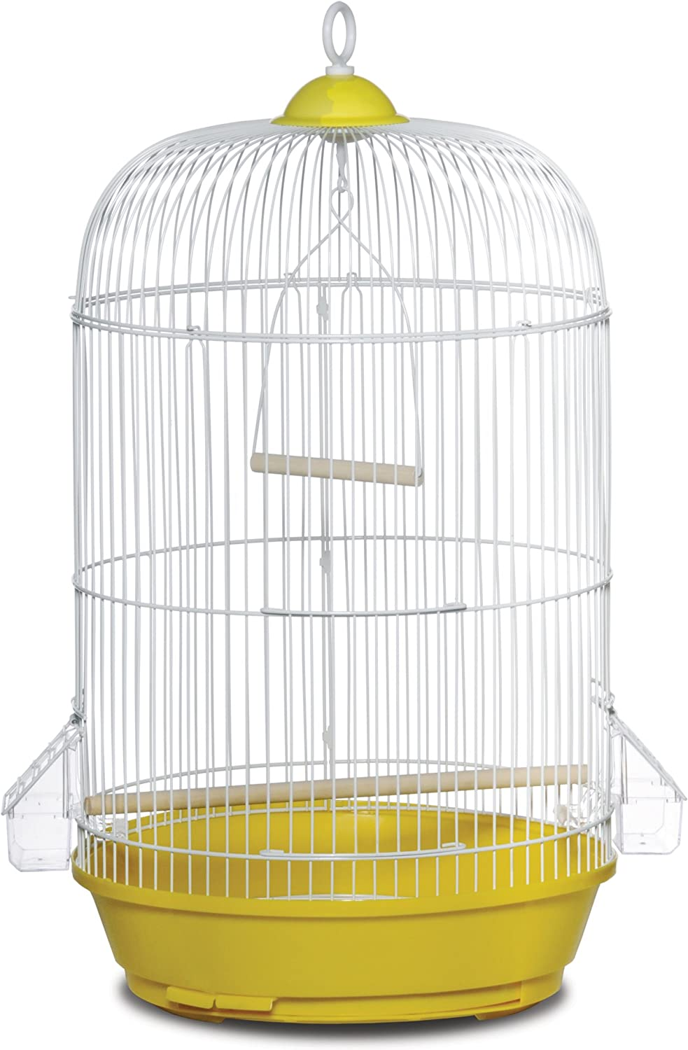 Prevue Hendryx SP31999Y Classic Indianapolis Mall Yellow Bird Round store Cage